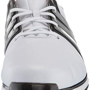 adidas Men's TOUR360 XT Spikeless Golf Shoe, FTWR White/Matte Silver/core Black, 10 Medium US