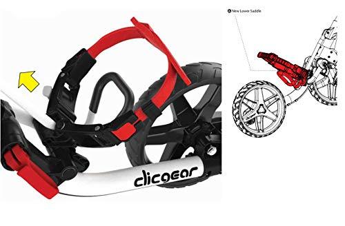 Clicgear Model 4.0 Golf Push Cart, Black