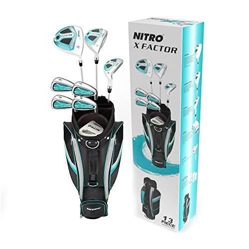 Nitro X Factor Golf Set Ladies, Left Hand