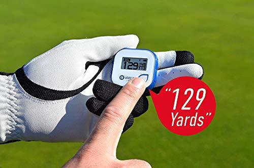 GolfBuddy Voice 2 Golf GPS/Rangefinder, White/Blue