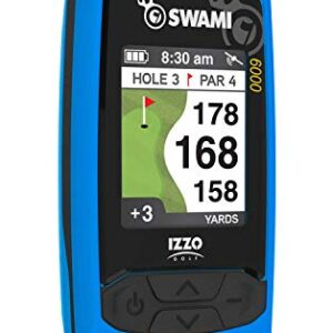 Izzo Swami 6000 Handheld Golf GPS, Blue (A44084)