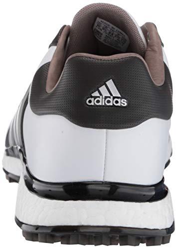 adidas Men's TOUR360 XT Spikeless Golf Shoe, FTWR White/Matte Silver/core Black, 10 Medium US