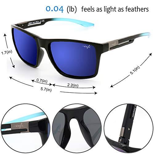 Fishing Polarized Sunglasses for Men Driving Running Golf Sports Glasses Square UV Protection Designer Style Unisex