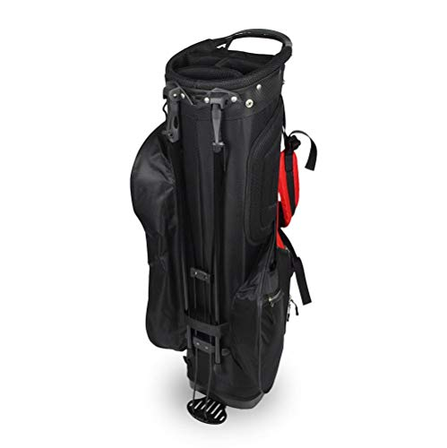 Hot-Z Golf 2.0 Stand Bag Black/Red