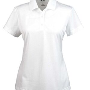 Adidas Ladies' ClimaLite Basic PiquT Polo – White – XL