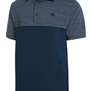 Three Sixty Six Quick Dry Golf Shirts for Men – Moisture Wicking Short-Sleeve Casual Polo Shirt Midnight Blue