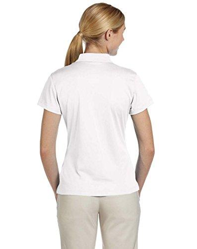 Adidas Ladies' ClimaLite Basic PiquT Polo – White – XL