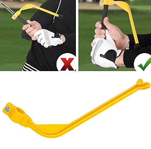 chariotter1A Golf Training Aids for Beginner Wrist Hinge Swing Trainer Smooth Swing Correcting Tools Swing Training Aid Arm Band Unisex Golf Swing Correcting Arm Band