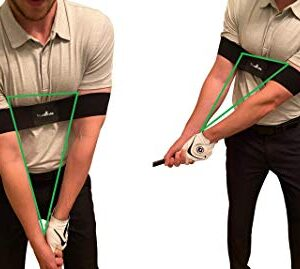 Golf Swing Training Aid – Swing Correcting Arm Band