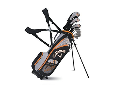 Callaway Boys XJ Hot Junior Set, Left Hand, 9-12 Years Old