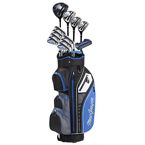 MACGREGOR Golf DCT3000 Premium Mens Golf Clubs Set, All Graphite, Left Hand, Cart Bag