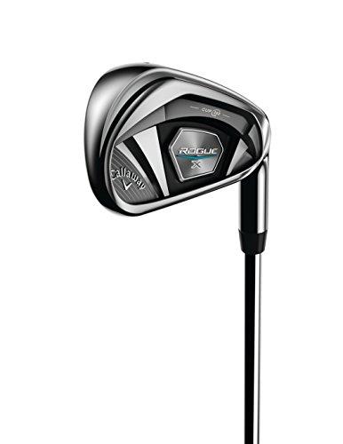 Callaway Golf 2018 Men's Rogue X Combo Set, Right Hand, Graphite Shaft, Senior Flex, 4H, 5H, 6-PW, AW, Set of 8 Clubs