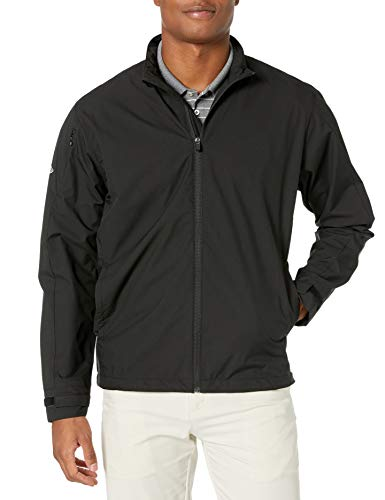 Callaway Men's Long Sleeve Opti-Repel Full-Zip Wind Jacket Black