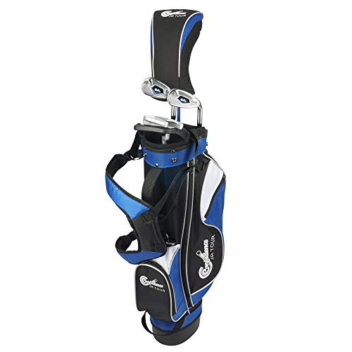 Confidence Golf Junior Golf Clubs Set for Kids Age 4-7 (up to 4′ 6″ Tall)