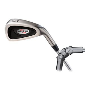 Medicus DualHinge 5 Iron Golf Training Club w/ 9 Breaking Points. Mens Standard Length.