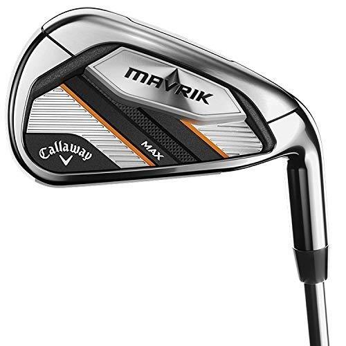 Callaway Golf 2020 Mavrik Max Iron Set (Right Hand, Graphite, Stiff, 5 Iron – PW)