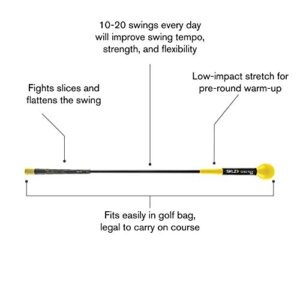 SKLZ Gold Flex Golf Swing Trainer Warm-Up Stick, 40 Inch