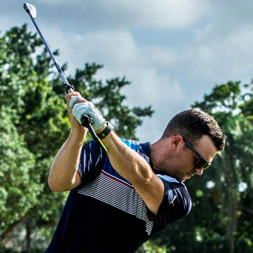 TheHANGER Golf Training Aid for Right Handed Golfers, Swing Trainer, Easily Attaches to Irons, Includes Club Face Reference Head
