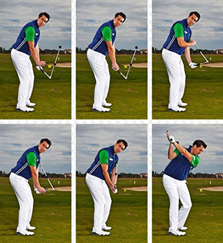 Sure-Set Golf Swing Trainer Aid Right Hand Strength Flexibility Power Sequence
