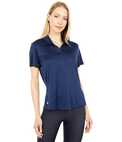 adidas Golf Women's Performance Primegreen Polo Shirt, Collegiate Navy, Small