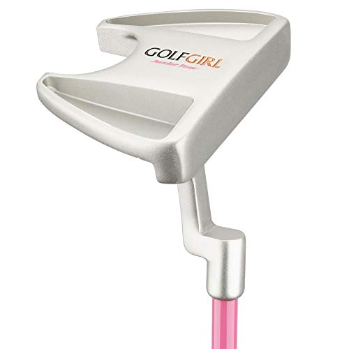 Golf Girl Junior Girls Golf Set V3 with Pink Clubs and Bag, Ages 4-7 (Up to 4′ 6), Right Hand