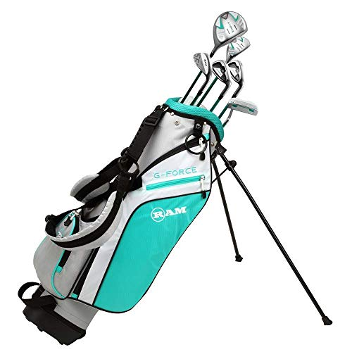 Ram Golf Junior G-Force Girls Golf Clubs Set with Bag Age 10-12 Lefty