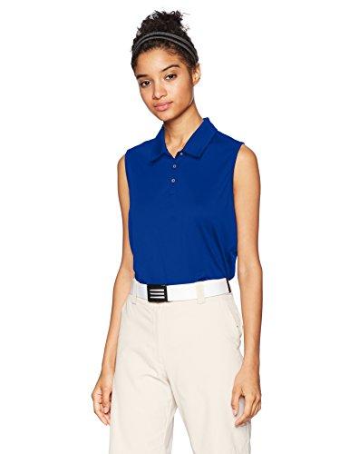 adidas Golf Tournament Sleeveless Polo, Collegiate Royal, X-Large