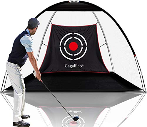 Gagalileo Golf Nets for Backyard Driving Golf Practice Net Golf Net for Indoor Use Golf Hitting Nets 10'X7'X6'Home Driving Range with Target and Carry Bag