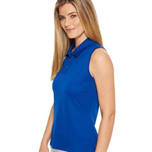 adidas Golf Tournament Sleeveless Polo, Collegiate Royal, X-Large