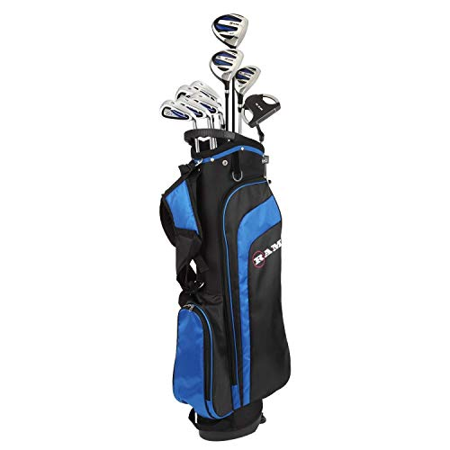 Ram Golf EZ3 Mens Golf Clubs Set with Stand Bag – Graphite/Steel Shafts
