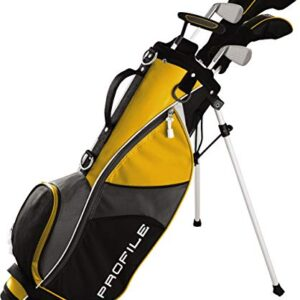 Wilson Youth Profile JGI Complete Golf Set – Right Hand, Medium, Yellow