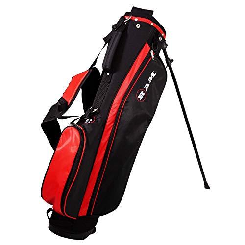 Ram Golf SGS Mens Golf Clubs Starter Set with Stand Bag – Steel Shafts