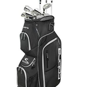 Cobra Golf 2019 XL Speed Complete Set (Men's, Black, Right Hand, Steel, Regular Flex)