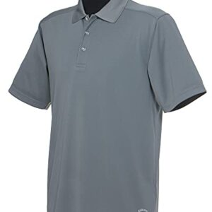 Callaway Men's Golf Short Sleeve Core Performance Polo Shirt, Smoked Pearl, X-Large