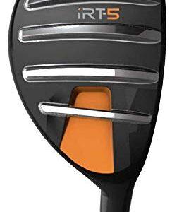 "iRT-5 Hybrid – Fairway Golf Club for Men & Women – Unique ""Machete Rails"" Cut Through Grass Effortlessly for High, Long Approach Shots"