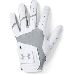 Under Armour Men's UA Iso-Chill Golf Gloves , Steel (035)/Steel , Left Hand Medium