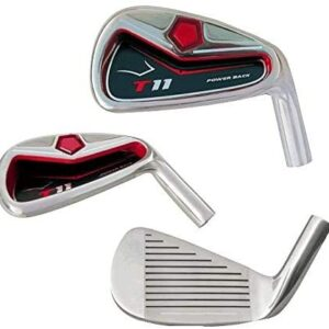 Big Tall Extra Custom Made Long XL Taylor Fit XXL Irons Golf Clubs Power Back T11 +2″ Iron Set: 4, 5, 6, 7, 8, 9, Pw + Free Sw (Matching Sand Wedge)