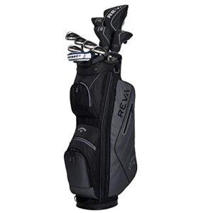 Callaway Golf 2021 REVA Complete Golf Set (11 Piece) Right-Handed, Long, Black