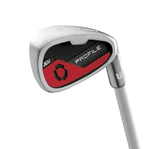 Wilson Youth Profile JGI Complete Golf Set – Right Hand, Small, Red