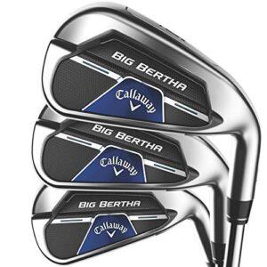 Callaway Big Bertha B21 Iron Set (Set of 6 Clubs: 5IR – PW, Right, Steel, Regular)